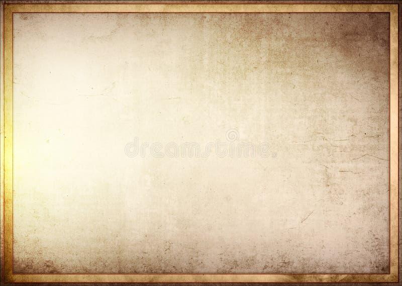 Quadro do fundo do Grunge ilustração royalty free
