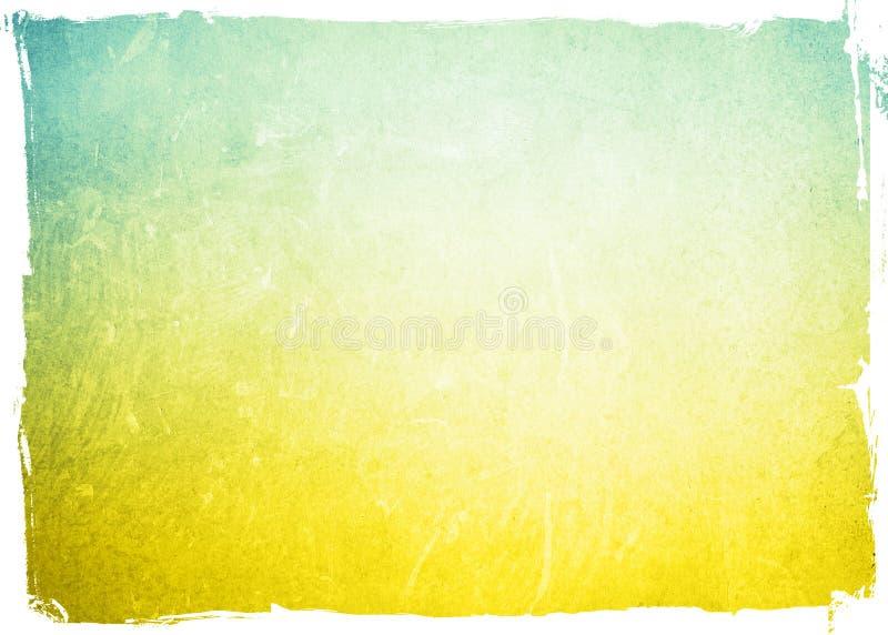 Quadro do fundo do Grunge ilustração do vetor