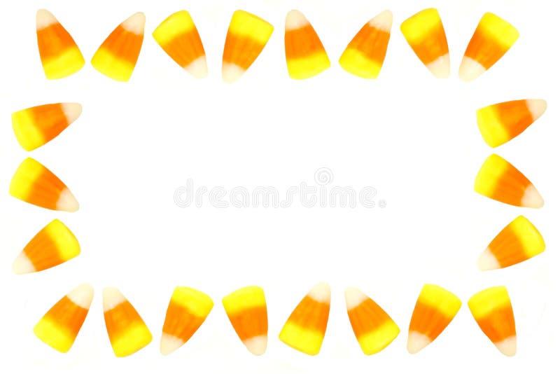 Quadro do milho de doces foto de stock royalty free