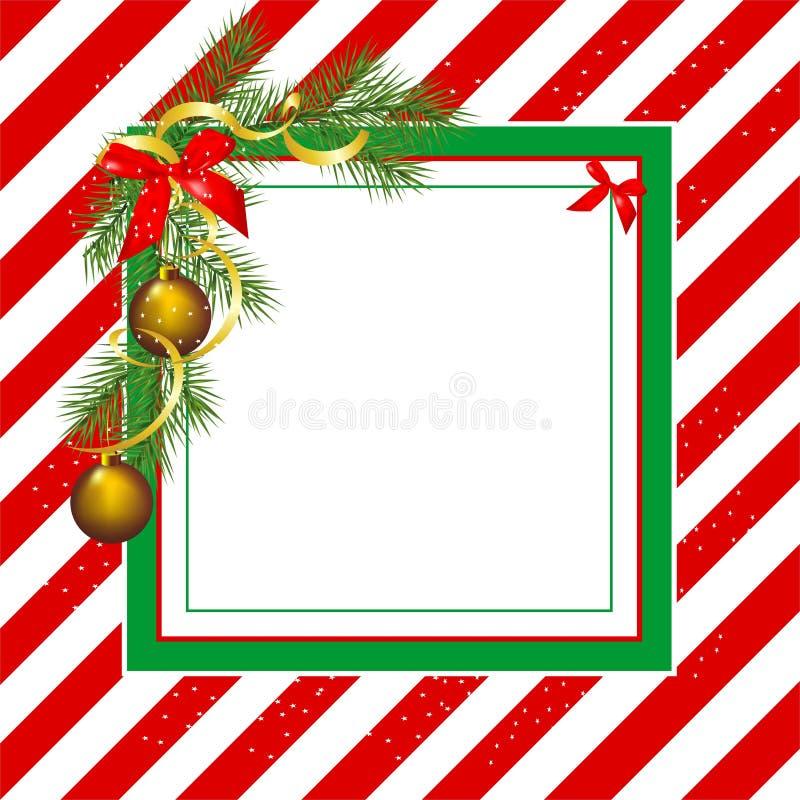 Quadro do Natal ilustração royalty free