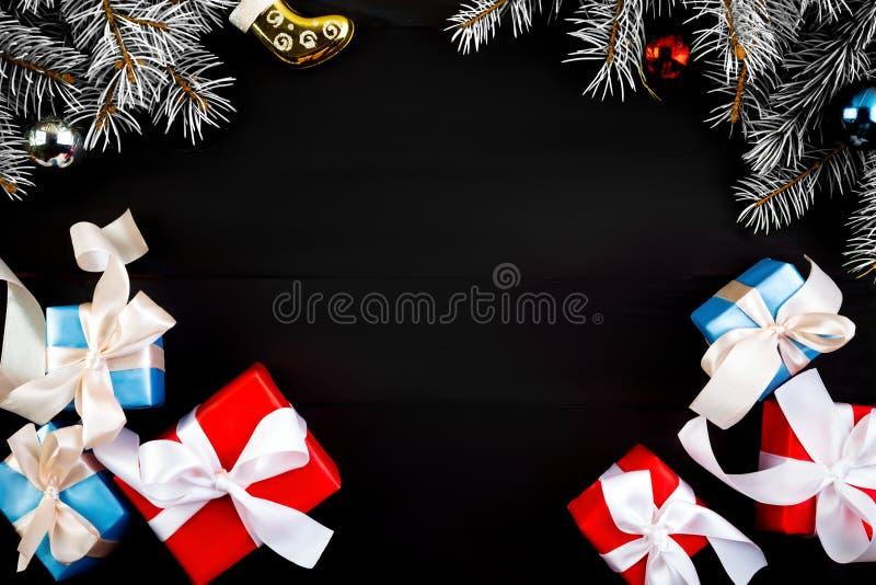 Quadro do Natal ou do ano novo imagem de stock royalty free