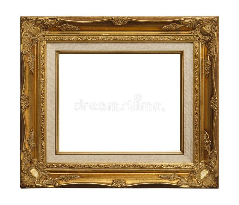 Quadro do ouro velho fotografia de stock royalty free