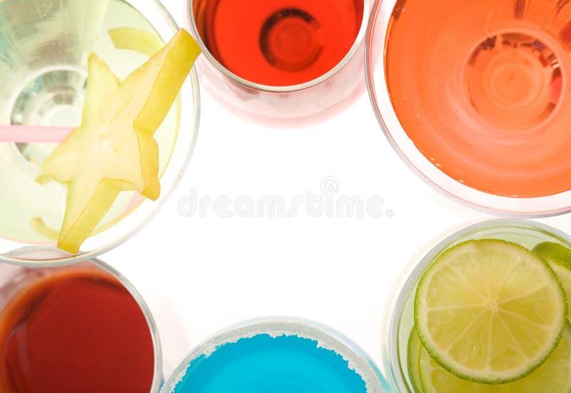 Quadro dos cocktail imagem de stock royalty free