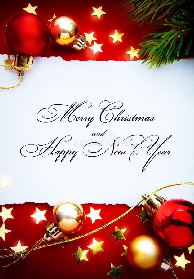 Quadro dos feriados do Natal da arte foto de stock royalty free