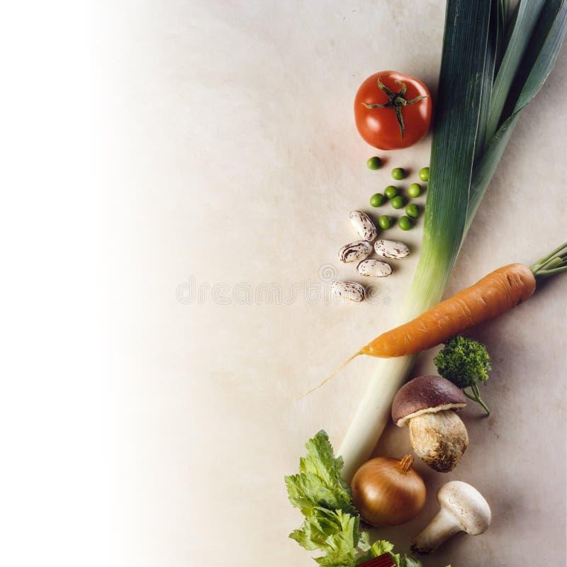 Quadro dos vegetais fotos de stock royalty free