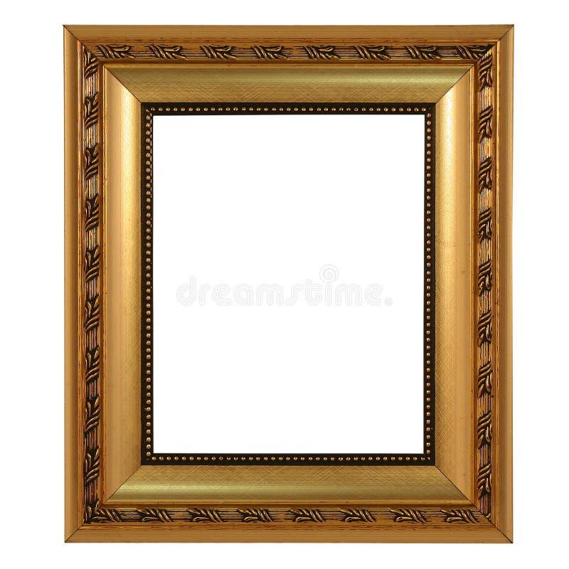 Quadro dourado foto de stock