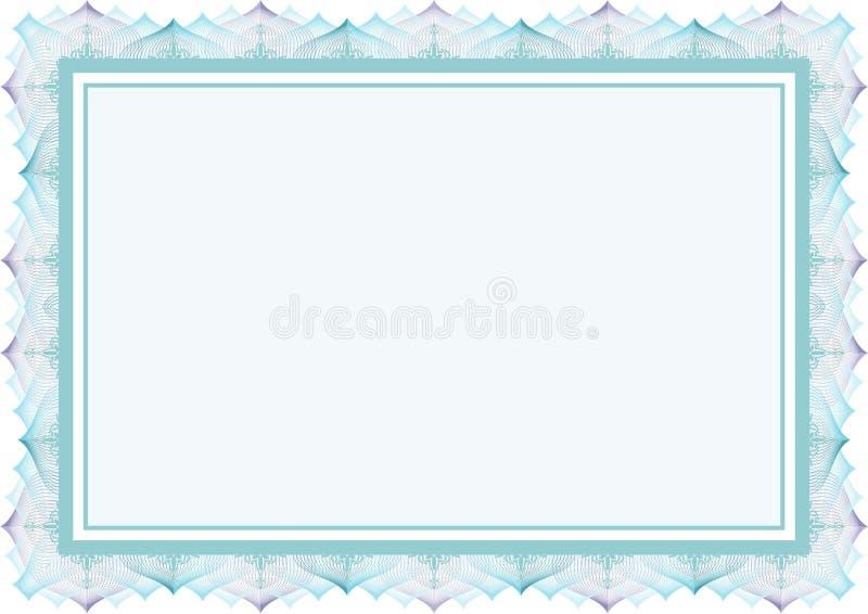 Quadro - guiloche do molde da beira & estilo islâmico ilustração do vetor