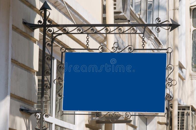 Quadro indicador azul. fotos de stock royalty free