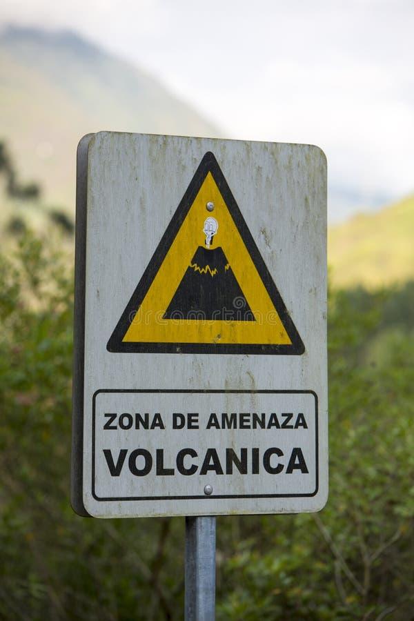 Quadro indicador vulcânico de madeira imagens de stock
