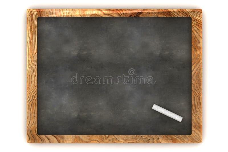 Quadro-negro vazio ilustração royalty free