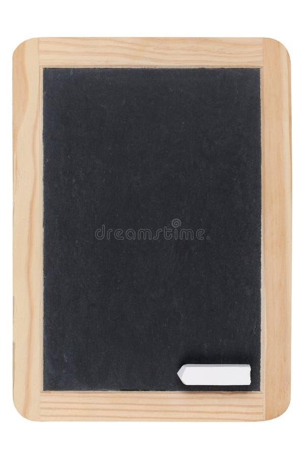 Quadro-negro vazio com giz fotos de stock