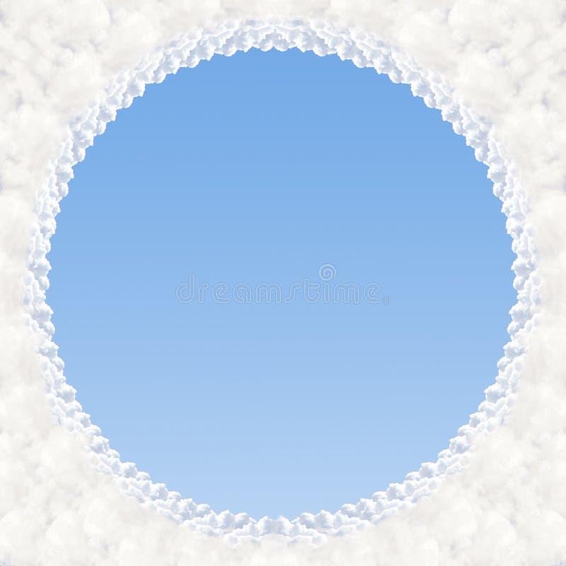 Quadro - nuvens imagens de stock royalty free