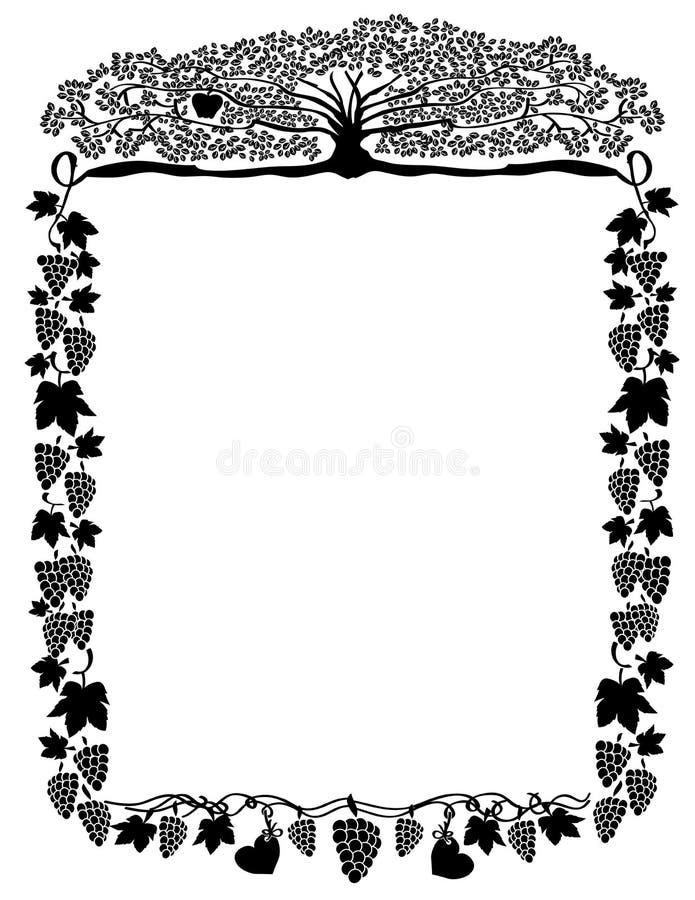 Quadro ornamentado imagens de stock