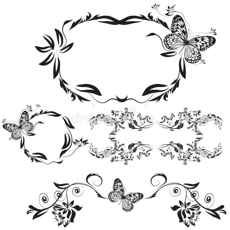 Quadro pattern03 ilustração royalty free