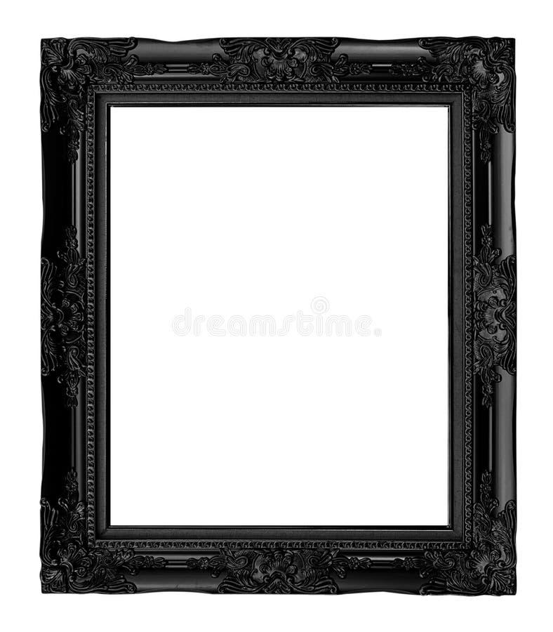 quadro preto antigo isolado no fundo branco, trajeto de grampeamento imagem de stock royalty free