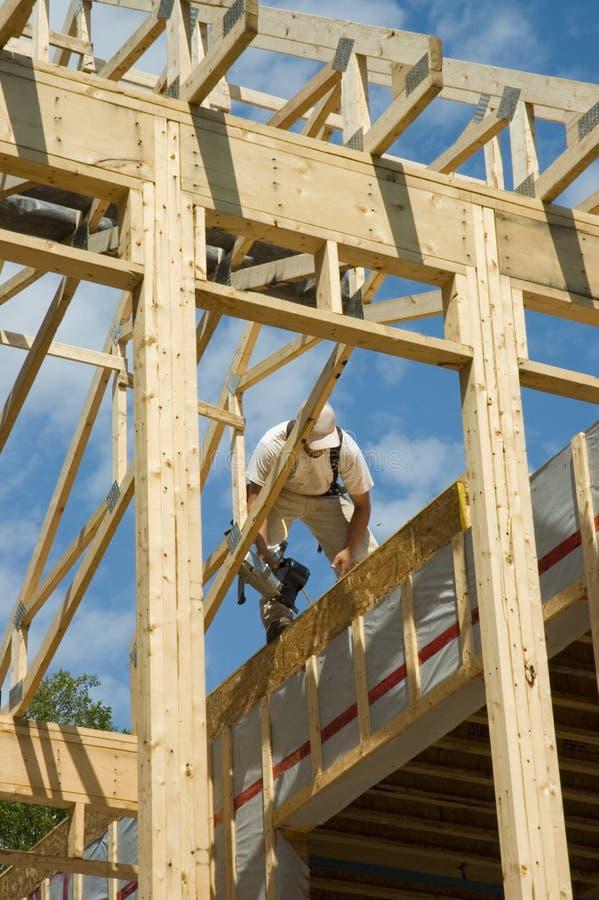 Quadro uma casa 1 imagens de stock
