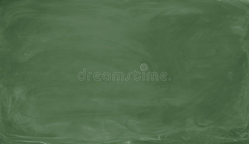 Quadro verde em branco Fundo e textura imagens de stock royalty free