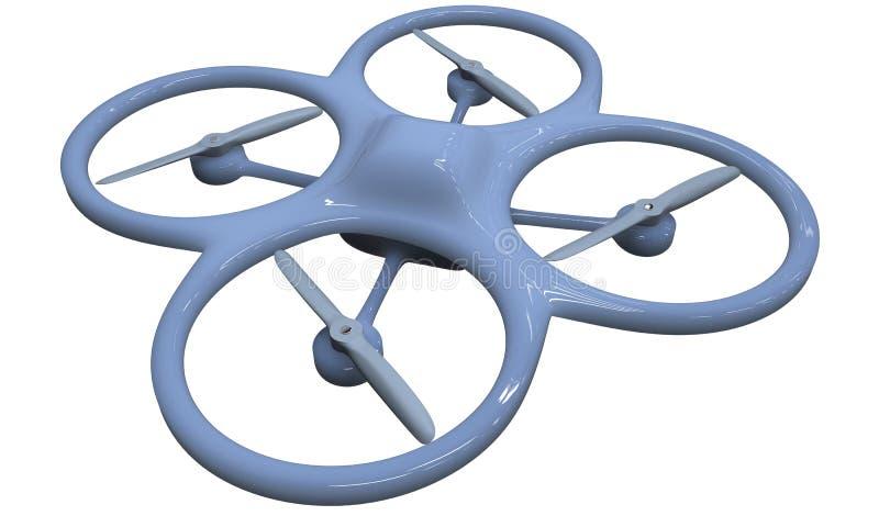 Download Quadrocopter ilustracji. Ilustracja złożonej z lotnictwa - 28974774