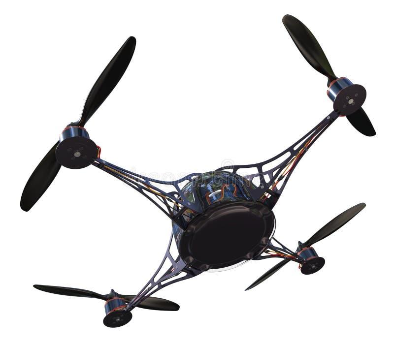 Quadrocopter 库存例证