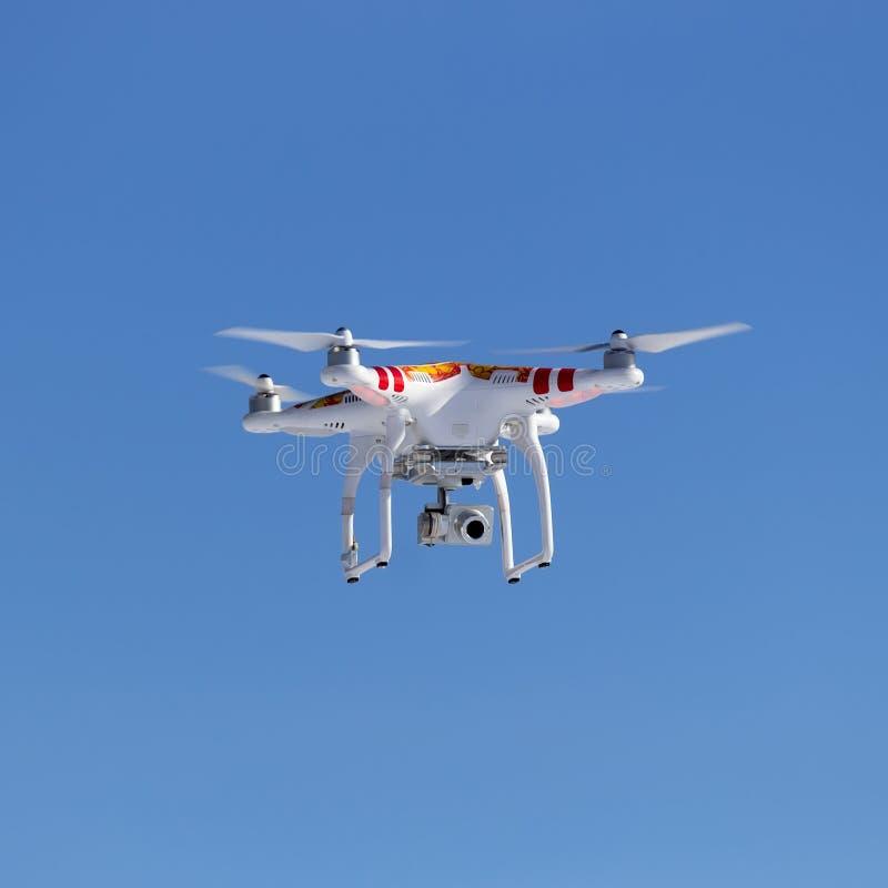 Quadrocopter imagens de stock