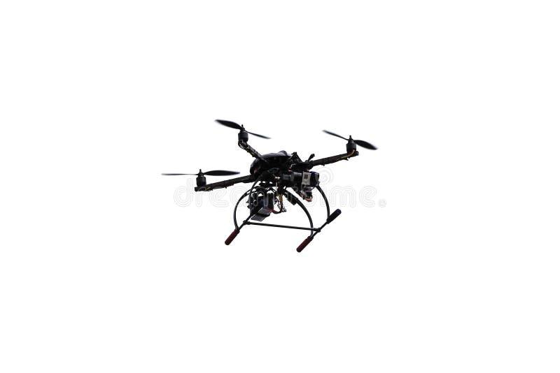 Quadrocopter-Brummen stockfoto