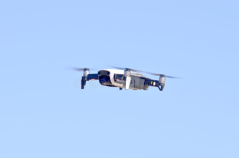 Quadrocopter met camera royalty-vrije stock foto
