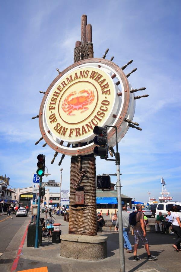 Quai de Fishermans photographie stock libre de droits