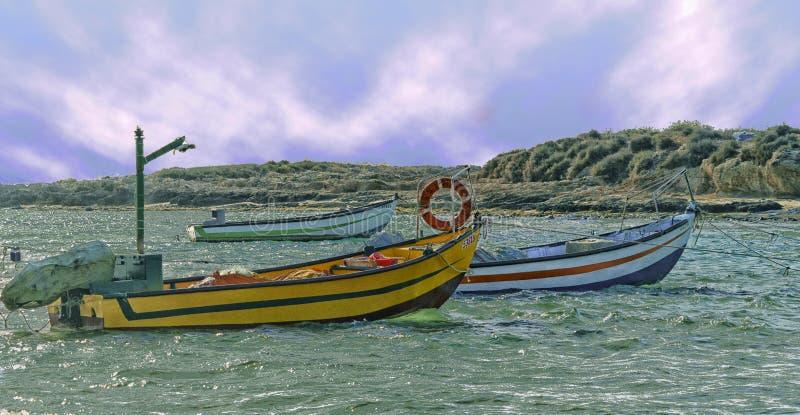 Quai de pêcheurs image libre de droits