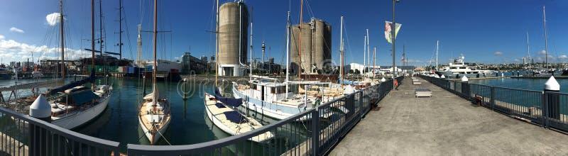 Quai de quart de Wynyard à Auckland Nouvelle-Zélande photographie stock