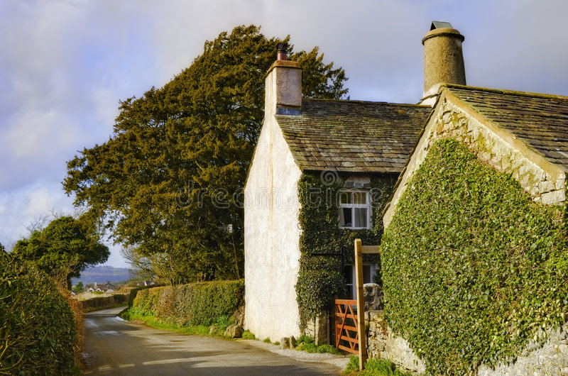 Quaint English Country Cottage Stock Image - Image of ... Quaint English Cottages
