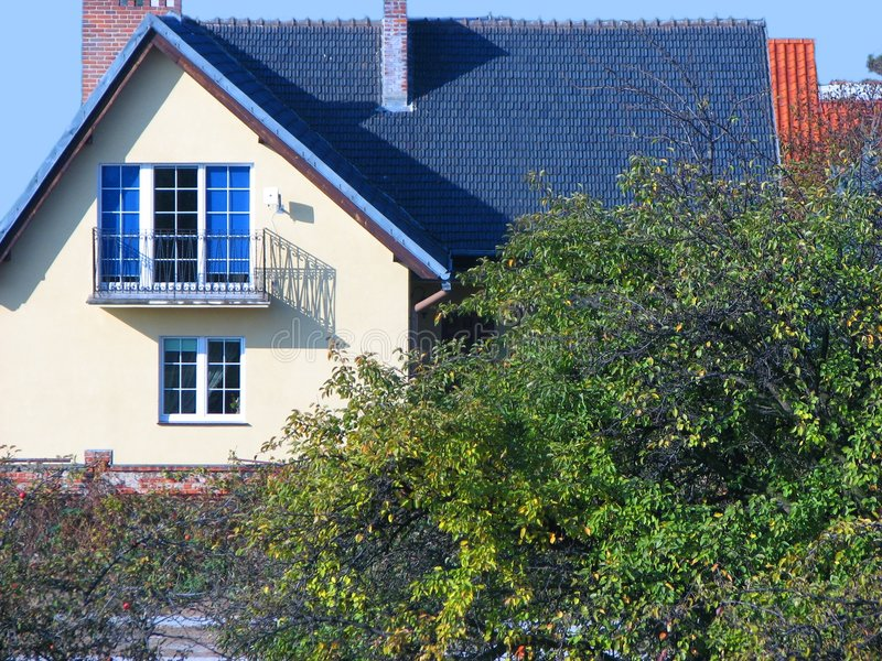 Quaint House Royalty Free Stock Images
