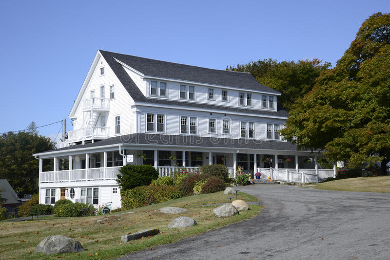 Quaint Maine inn royalty free stock images
