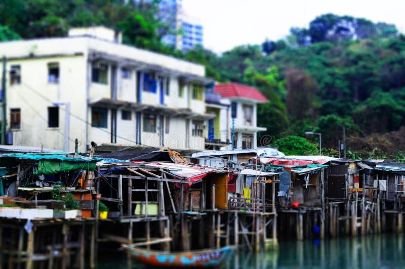 In qualche luogo a Hong Kong fotografie stock libere da diritti