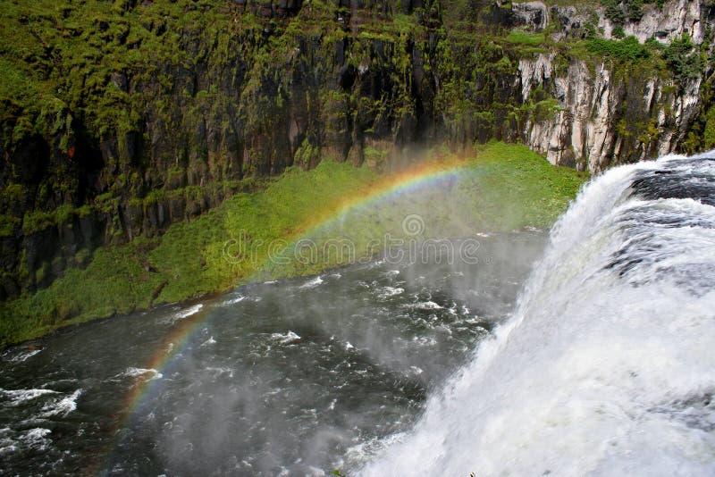 In qualche luogo sopra il Rainbow fotografie stock libere da diritti