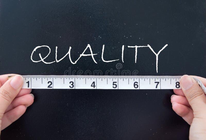 Qualidade de medição fotos de stock