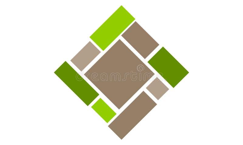 Qualidade do bambu do revestimento ilustração royalty free