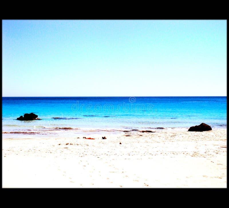Qualidade fina de surpresa do papel de parede do fundo de greece do chania de Falassarna da praia foto de stock