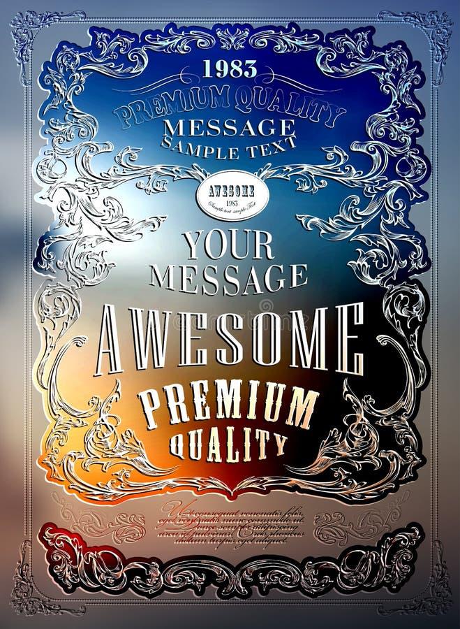 Qualidade superior ilustração royalty free