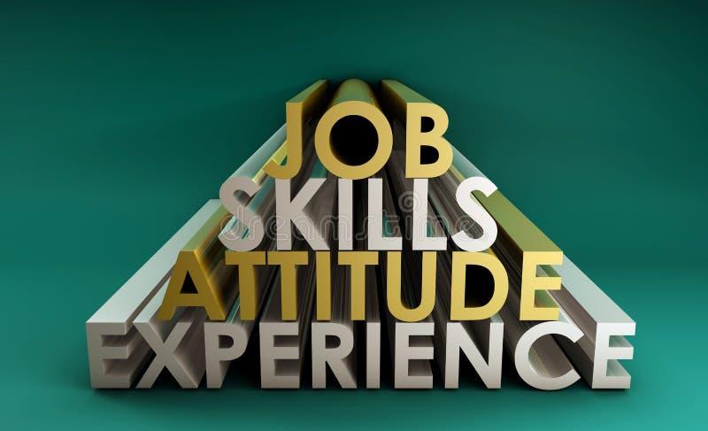 Qualifications d'affaires illustration de vecteur