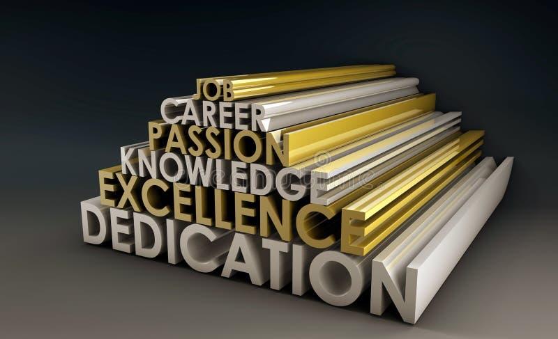 Qualifications d'affaires illustration stock