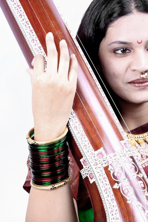 Qualifications indiennes de musique images stock
