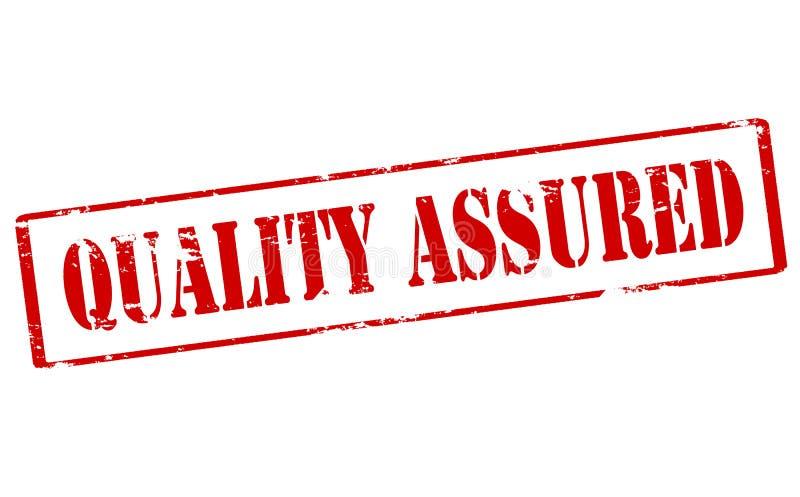 Qualità assicurata illustrazione di stock
