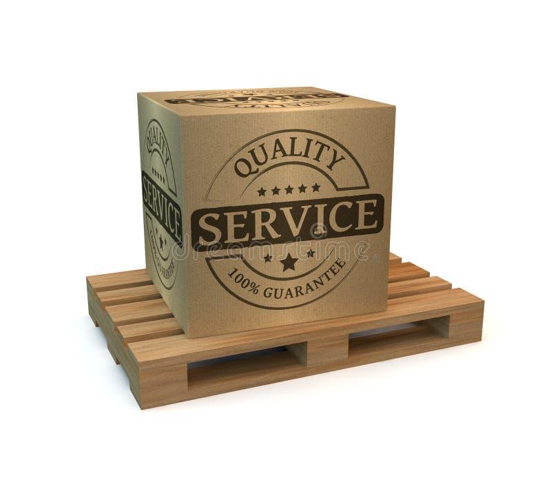 Qualità dei servizi illustrazione di stock