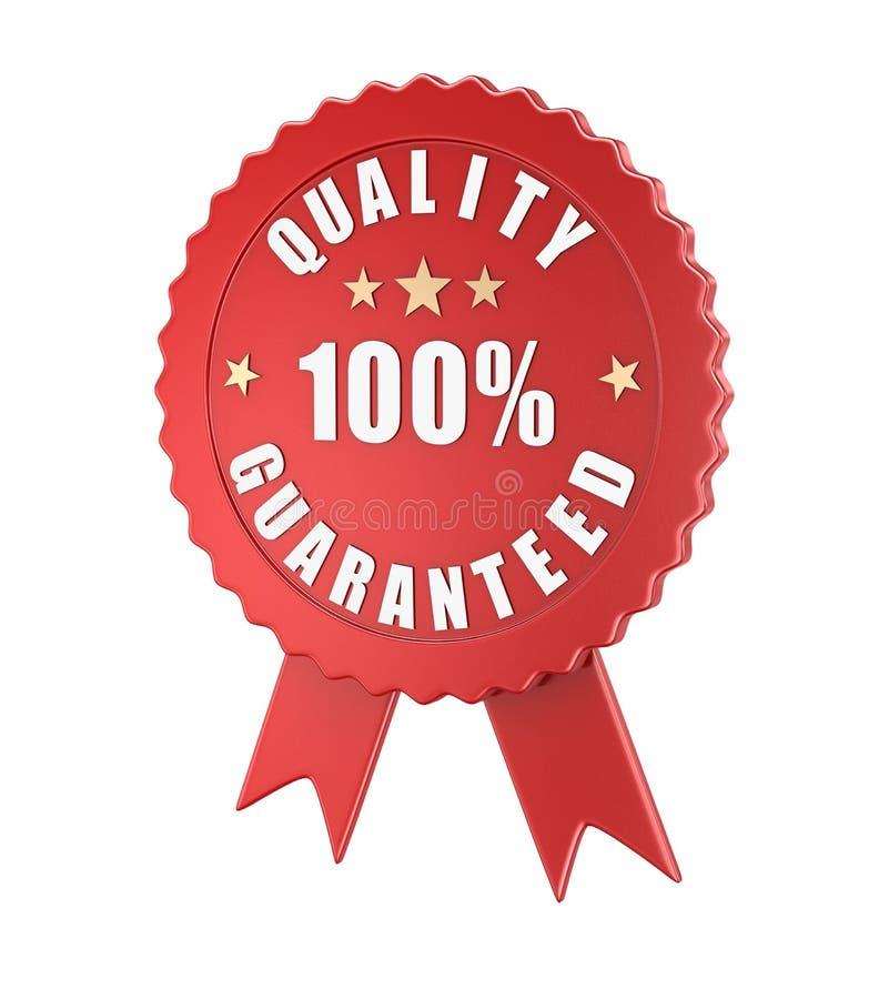 Qualità garantita illustrazione vettoriale