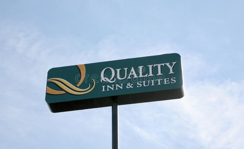 Qualitäts-Gasthaus u. Reihen lizenzfreie stockfotos
