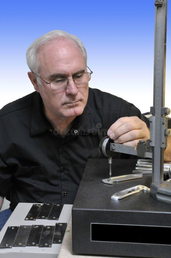 Qualitäts-Inspektor stockfotos