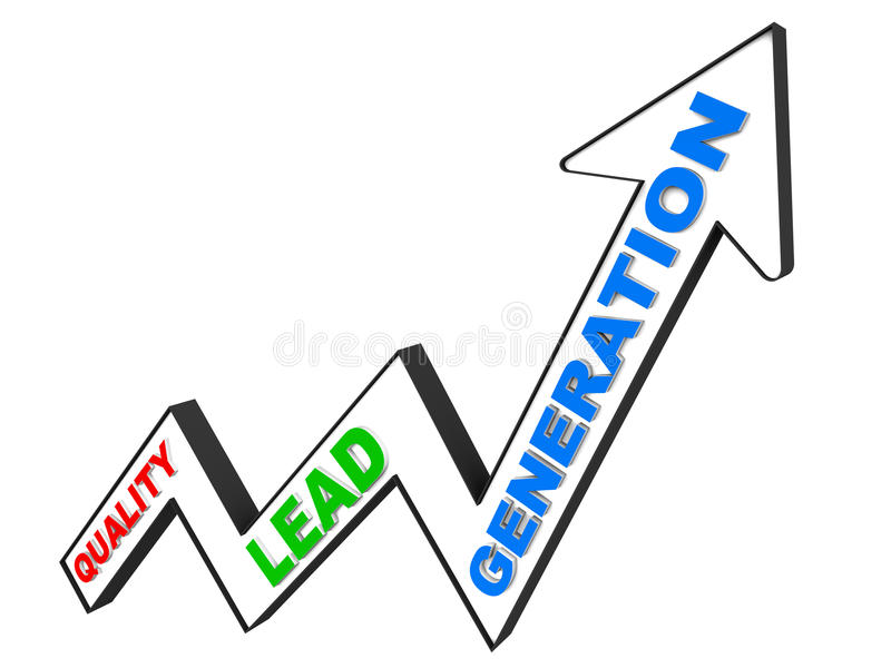 Qualitätsführungsgeneration stock abbildung