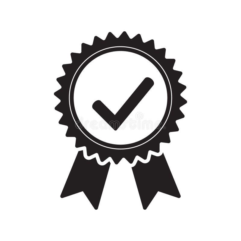 Qualitätskontrollbandikone Zugelassene oder beste Wahl des Vektorproduktes empfahl anerkanntes Zertifikatkennzeichen des Preises  lizenzfreie abbildung