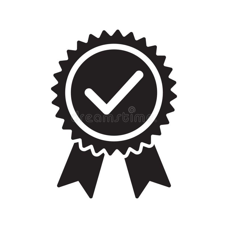 Qualitätskontrollbandikone Zugelassene oder beste Wahl des Vektorproduktes empfahl anerkanntes Zertifikatkennzeichen des Preises  vektor abbildung