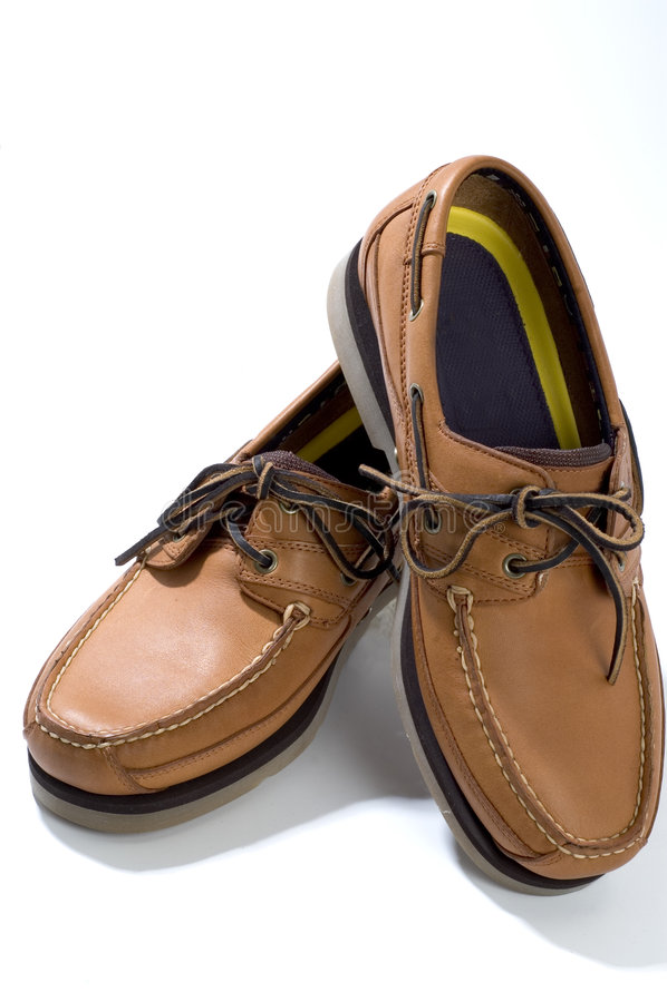 Qualitätslederne beiläufige Schuhe lizenzfreie stockfotos
